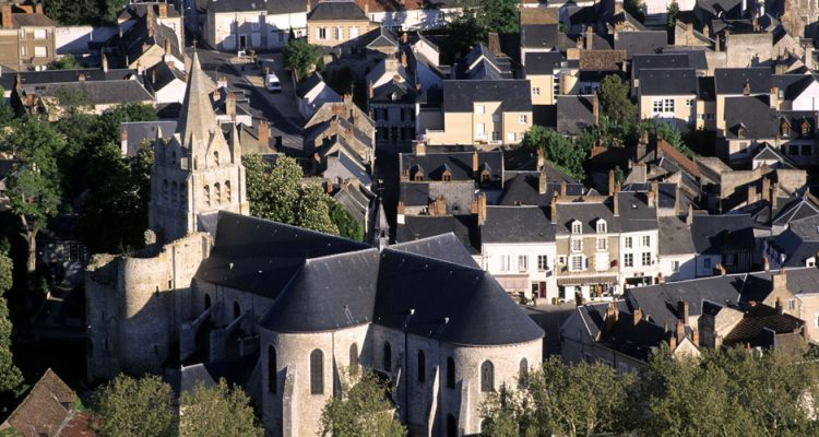 Medieval town of Beaugency