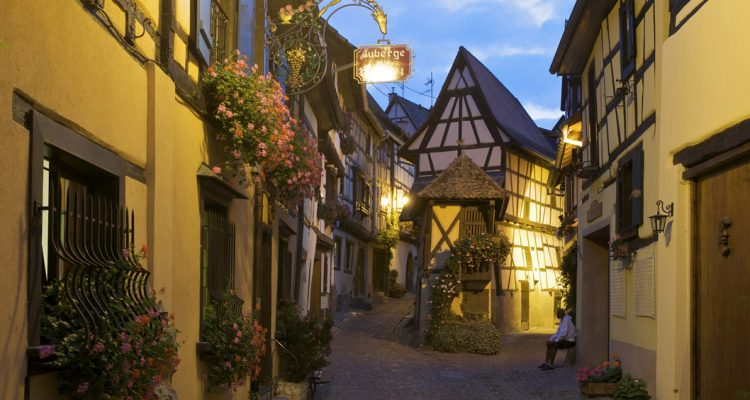 Eguisheim is one of the most beautiful characteristic villages of Alsace with half-timbered houses, a rampart walk and castle.