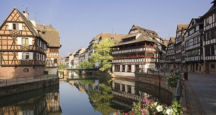 Petite France district of Strasbourg