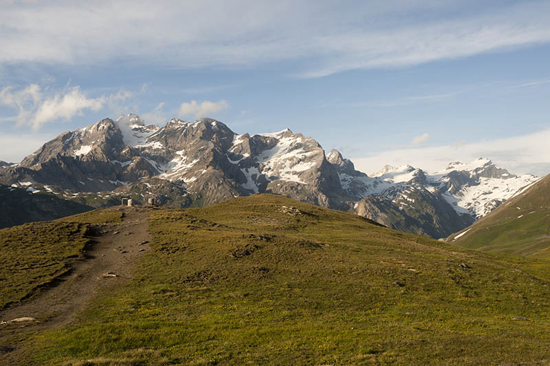 Col de l'Iseran (Rhone-Alpes, France) - Landscape at summer