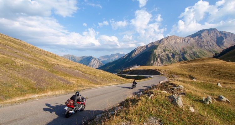 Motorcycling along the Route des Grandes Alpes