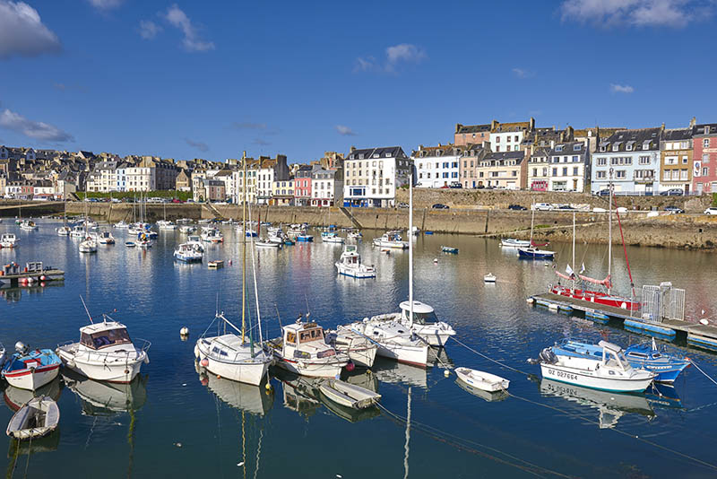 Douarnenez, Port and boats, Finisterre, Bretagne, Brittany, Quimper distict, France.