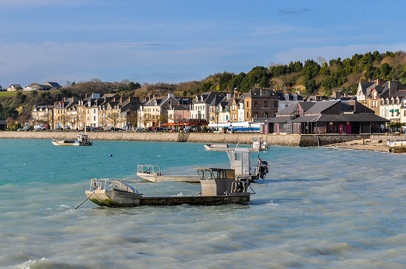 Cancale in Brittany, northwestern France