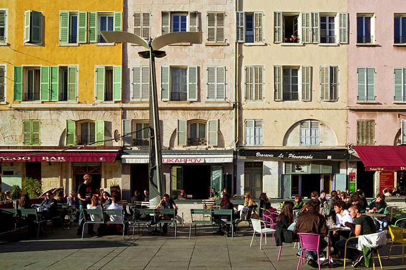 COURS D'ESTIENNE D'ORVES, MARSEILLE, PROVENCE, FRANCE