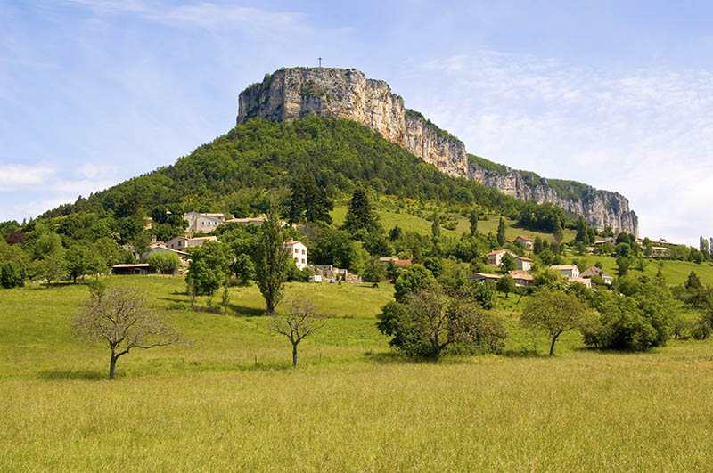 Gervanne Valley in the Drome region, France, Europe
