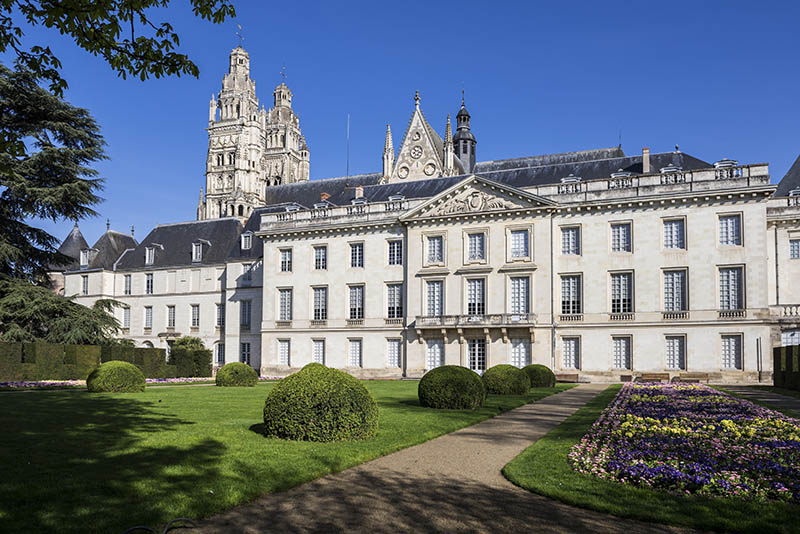 Fine Arts Museum, in a Former Archbishop´s Palace. Tours, Indre et Loire, Loire Valley, France, Europe.