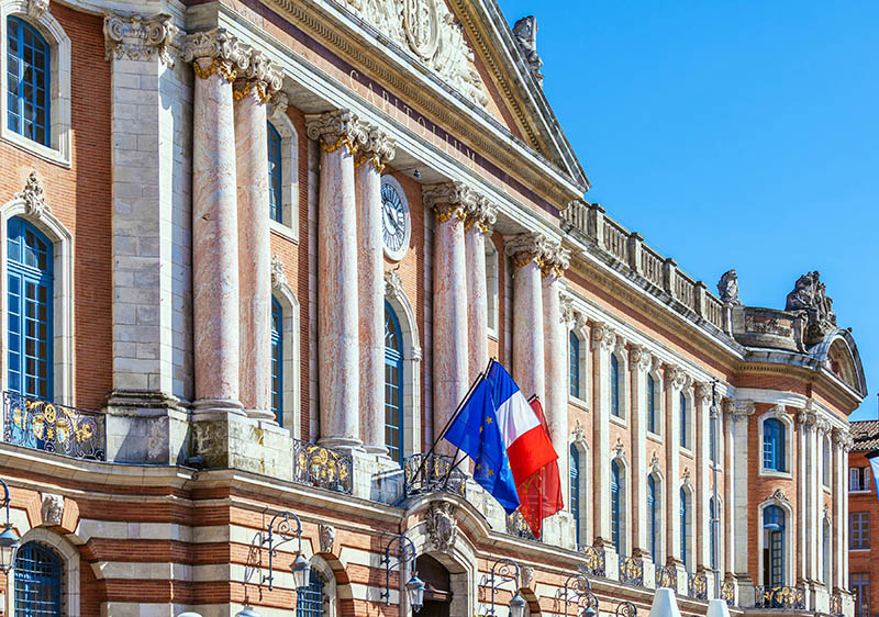 Capitole de Toulouse, France