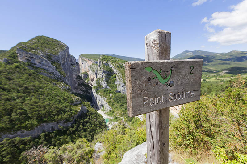 Point Sublime in the Gorges du Verdon, Provence, France, Europe.