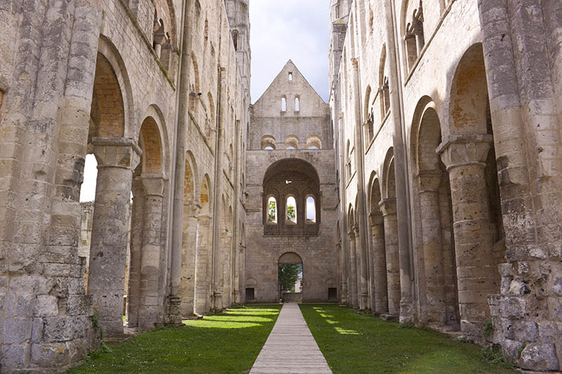 Abbey of Jumieges in Normandy