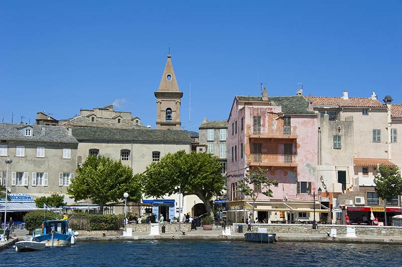 Old town, St_Florent, Corsica, France / Saint_Florent, Saint Florent
