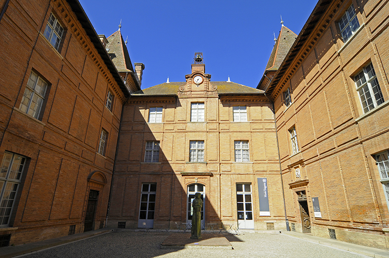 Ingres Museum, old residence of the bishops, Montauban, Department Tarn_et_Garonne, Midi_Pyrenees, France / Jean Auguste Dominique Ingres, Musee Ingres