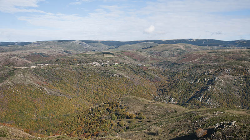 Cevennes national park landscape - France