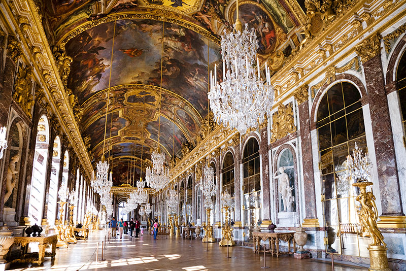 Room of Mirror, Palace of Versailles, Versailles, France, Europe, World Heritage