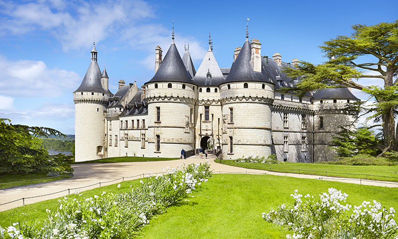 Chaumont Castle, Chaumont sur Loire, Loire Valley, France.